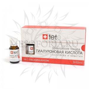 Гиалуроновая кислота + коллаген и эластин Tete, 30 мл
