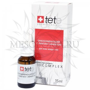 Омолаживающий биокомплекс Tete для век с лифтинг-эффектом, 15 мл