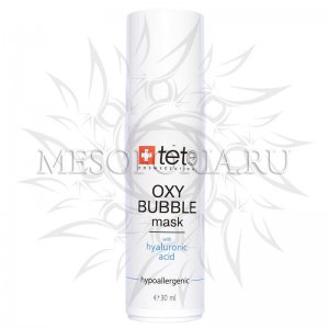 Oxy Bubble Mask (Кислородно-пенная маска), Tete Cosmeceutical, 30 мл