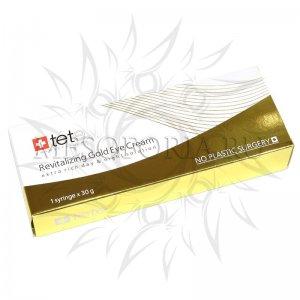 Омолаживающий крем для век с коллоидным золотом / Revitalizing Gold Eye Cream, TETе Cosmeceutical, 30 мл