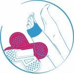 Вкладыши, пластыри и накладки для ног