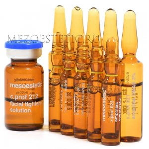 Набор мезококтейлей для лифтинга лица MESOESTETIC (12 процедур) купить