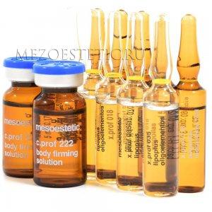Набор мезококтейлей для лифтинга тела MESOESTETIC (10 процедур) купить