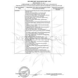 Декларация соответствия на BeASKO Algo 2