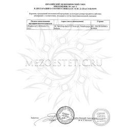Приложение к декларации соответствия №4