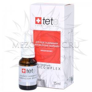 Биокомплекс Tete «миорелаксант» для разглаживания мимических морщин, 15 мл