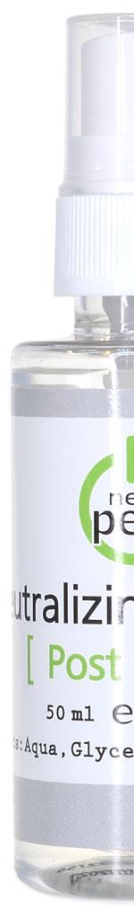 Neutralizing solution New Peel