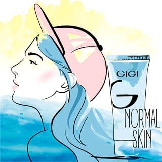 Уход в летний период за нормальной кожей